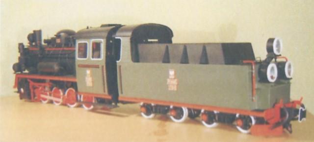 narrow gauge steam engine px48