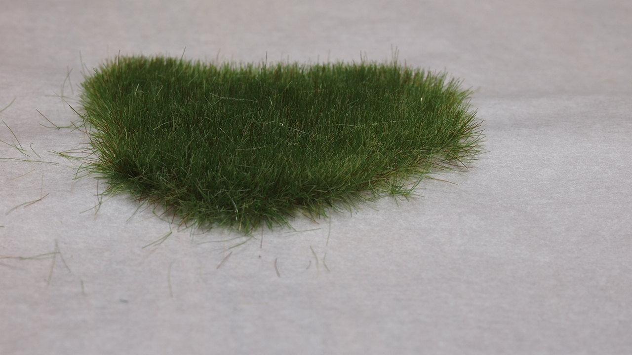Static grass tuft