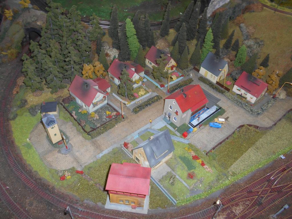 tt scale village scene