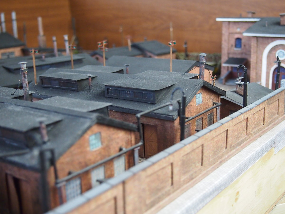 ho scale model factory 20