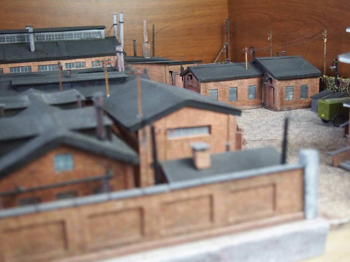 ho scale model factory 22
