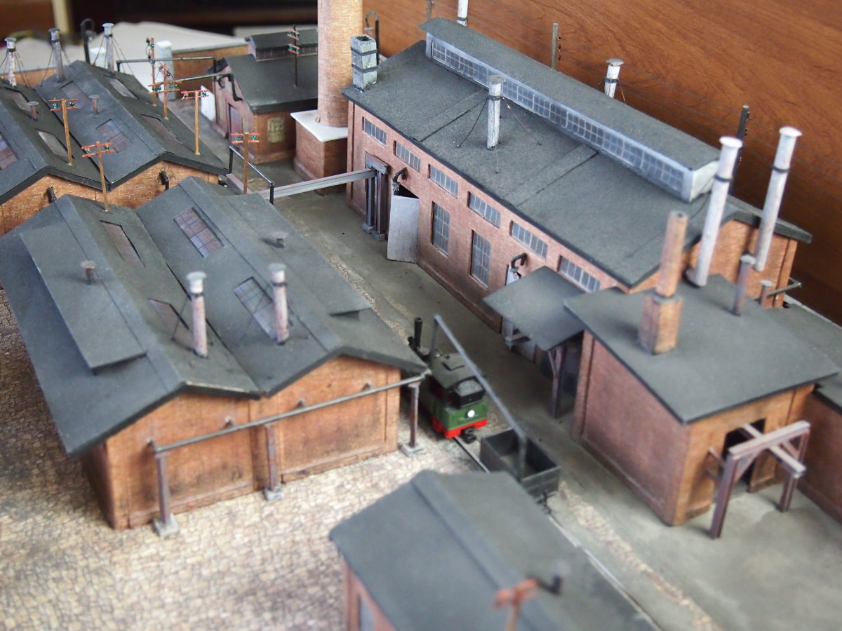 ho scale model factory 27