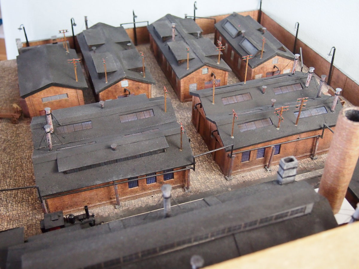 ho scale model factory 5
