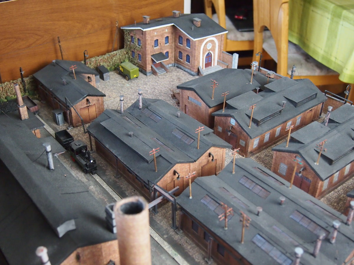 ho scale model factory 6