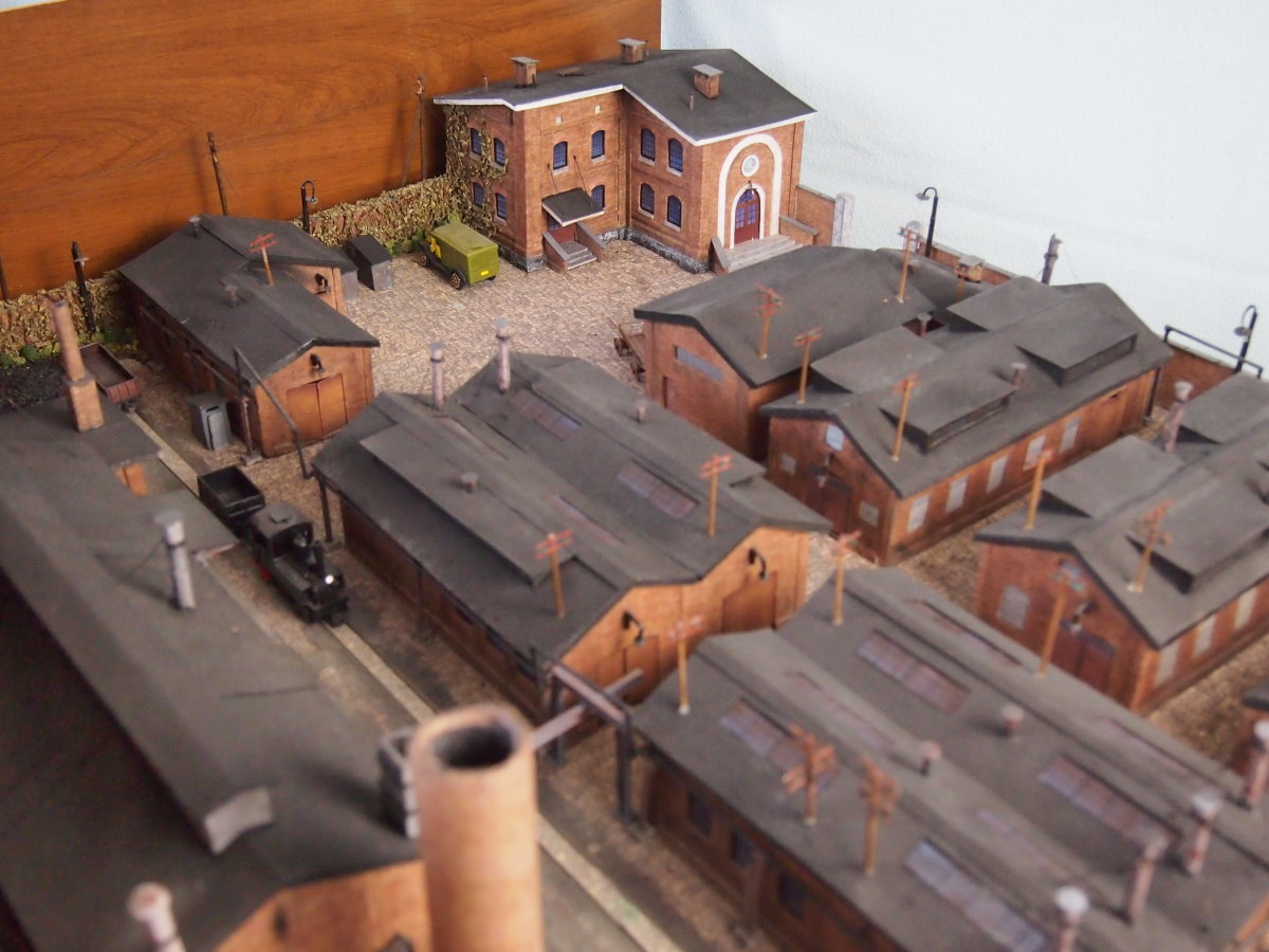 ho scale model factory 7