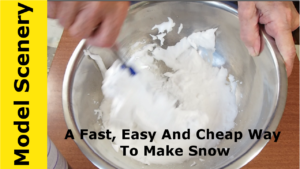 how to make cheap snow