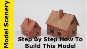 Carton model buildings
