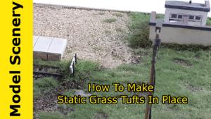 tall static grass tuft