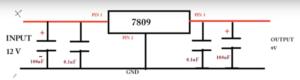 schematic 12v to 9v converter