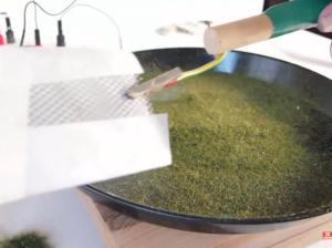 Static Grass Applicator Holding Tool
