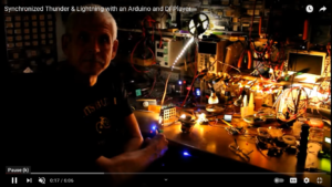 Model Thunder And Lightnin With Arduino And DF Player