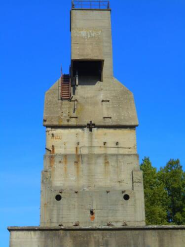 Odolany Coal tower left side view