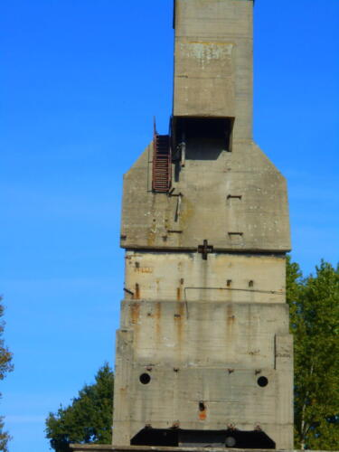 Odolany coal tower left side view.