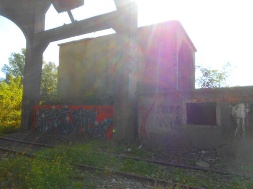 Odolany coal tower dump shed.