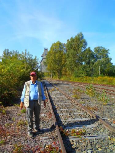Gary Granai at Odolany engine service area.