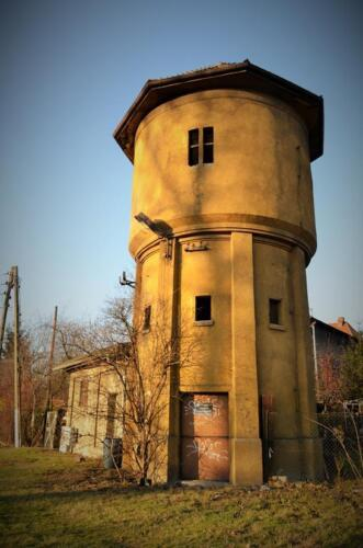 bytom water tower front