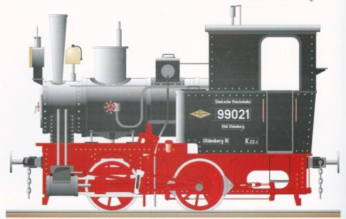 Narrow Gauge Steam Engine Bn2t FreudensteinA 9.4 ton steam engine with a water capacity of 1200 liters and 350 kilograms of coal. It ran on 1000 mm track at 40 km per hour.