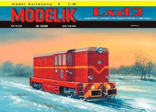 Narrow Gauge Diesel Engine Lxd2A very popular narrow gauge diesel engine, Lxd2, still in wide use at tourist spots around Poland.