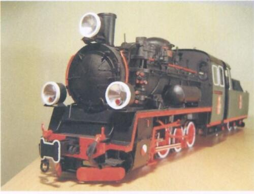 Narrow Gauge Steam Engine Model Px48The Px48 design was based on plans of the PX29. It was very efficient and very popular. Another version, PX49 was built for export.