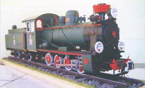 POLISH NARROW-GAUGE STEAM LOCOMOTIVE FROM 1929The designation PX29 was applied in 1945 to the original design of the engine which was orginally designed WP29 (type Vilnius). This locomotive proved to be a successful design. It was well-liked because of its ease of use.