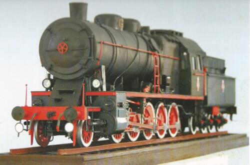 Steam Engine Heavy Freight Model TY23These locomotives were the core of freight locomotives in heavy goods traffic before 1939. Starting in 1937 they began to be replaced by locomotives Ty37.