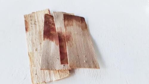 wood tower wood
